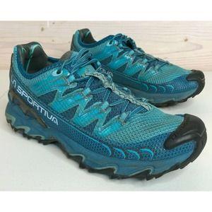 La Sportiva Ultra Raptor Trail Running Shoe Teal